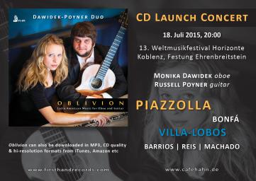 Russell Poyner CD Release Concert