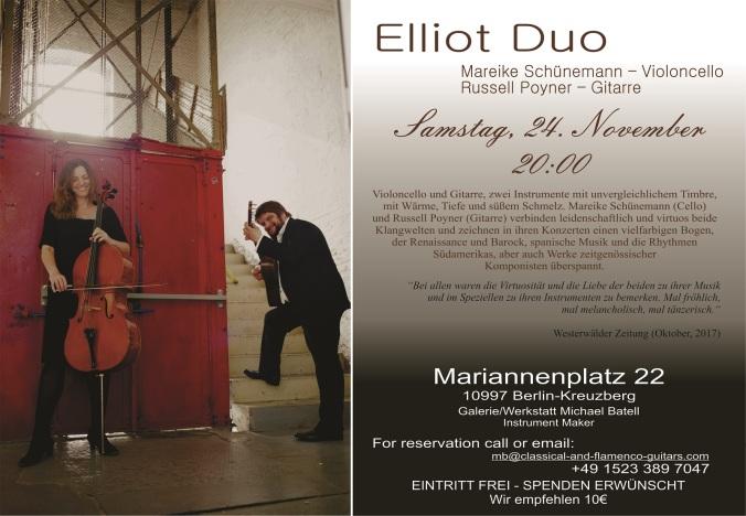 Elliot Duo 2018